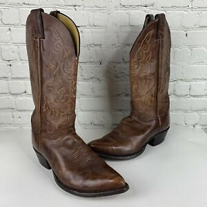 Brown Pointed Toe Cowboy Boot Style