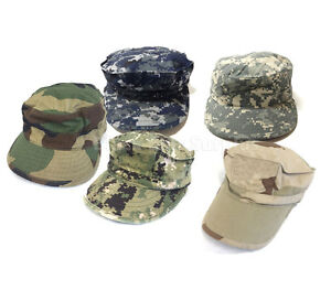 US Military Caps Army Navy USMC Air Force Working Utility Camo Hats 800b0dac659