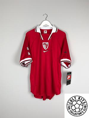 Suministro Fc Sion 98/00 *player Issue* Bnwt Away Football Shirt (multiple Sizes) Nike Oferta De Fin De AñO
