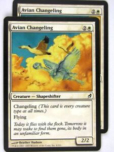 MTG-Magic-the-Gathering-Cards-AVIAN-CHANGELING-x2-LRW