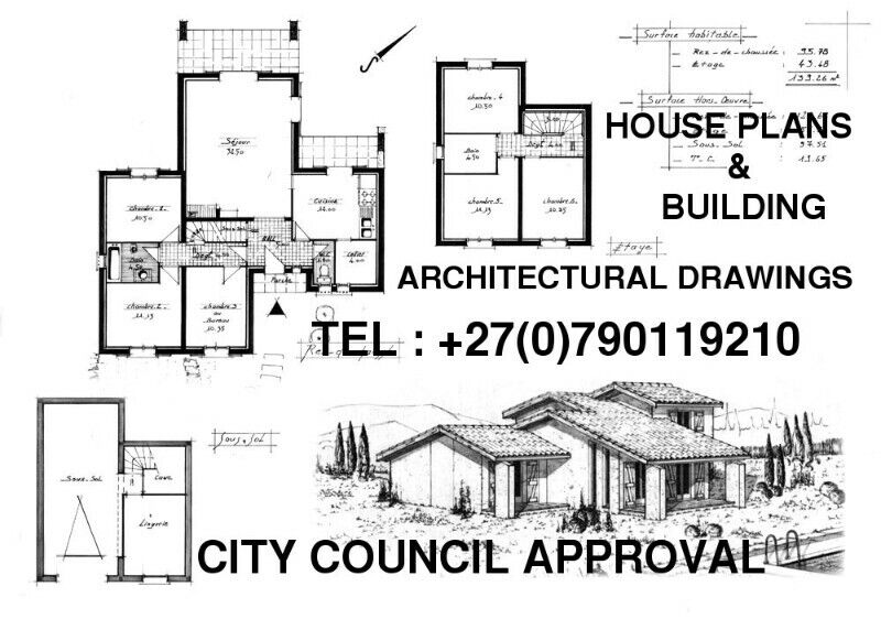 Architectural plans and Council submissions