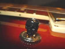 BLACK Skull toggle switch tip Fits Gibson ES 335 Les Paul SG others Free USA S/H