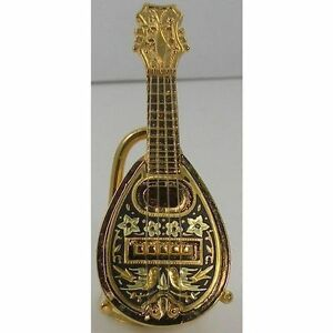 Damascene-Gold-Miniature-Mandolin-by-Midas-of-Toledo-Spain