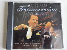 """WEIHNACHTS-CD """" ANDRE RIEU & HELMUT ZACHARIAS""""- TRÄUMEREIEN ZUR WEIHNACHTSZEIT"""