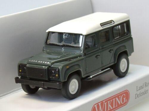 Wiking Land Rover Defender 110 0102 02-1:87 keswick green
