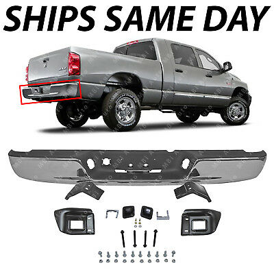 NEW Chrome Rear Step Bumper Assembly for 2004-2008 Dodge RAM 1500 2500 3500 HD