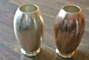 2 WMF Vasen versilbert