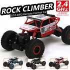 1/18 2.4G Radio Remote control RC 4WD Truck Car Off Road Buggy Monster Climbing