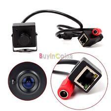 1.0 Megapixel Super Mini 720P HD Hidden Micro IP Camera Pinhole Security Cam New