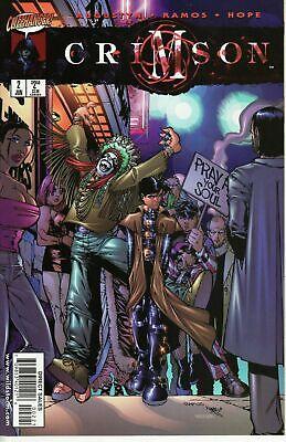 Crimson #2 June 1998 DC Wildstorm Comics Augustyn Ramos Hope