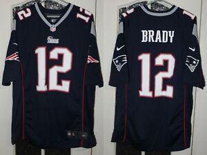 Contribuyente En consecuencia Gaviota  New England Patriots Brady Azul Marino Nike Camiseta Jersey De Fútbol  Americano Talla L | eBay