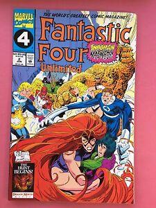 Fantastic-Four-Unlimited-Inhumano-Locura-Marvel-Comics-2-Junio-Vfn