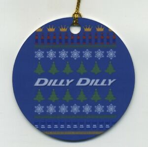 image is loading dilly dilly ugly sweater metal christmas ornament double - Metal Christmas Sweater