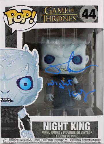 Night King Game Of Thrones #44 Vinyl Figure Richard Brake Signed Funko Pop