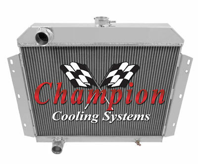 3 Row Reliable Champion Radiator for 1968 1969 Dodge D100 Pickup V8 Engine