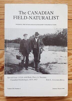 The Canadian Field Naturalist 1996, Percy Taverner, Ornithology birds  nature   eBay