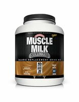 Muscle Milk Collegiate Protein Powder Chocolate 20g Protein 5.2... Free Shipping