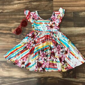 530e291f4 NWT Dot Dot Smile Red Empire Casual Cute Ballerina Dress Sz 2T