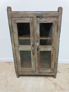 Antique Primitive Architectural Salvage Pie Safe Cupboard