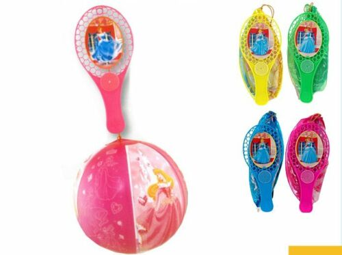 "12/"" INFLATABLE DISNEY PRINCESS TAP BALL /& BAT ASSORTED COLOURS"