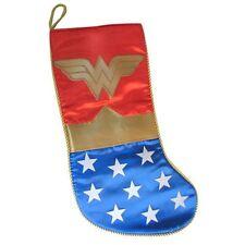 Christmas Stocking NEW * Wonder Woman * 19 Inch Applique Holiday Kurt S Adler