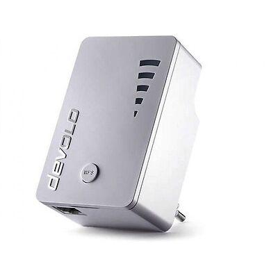 devolo WiFi Repeater ac (1.200Mbit, 1xLAN, WPS, WLAN Repeater, Extender, Verstär