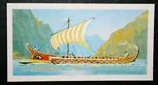 Trireme Greek Galley    Colour Card  VGC