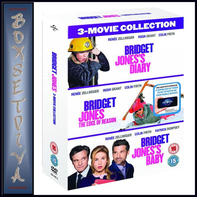BRIDGET JONES - 3 MOVIE COLLECTION BOXSET * BRAND NEW DVD***