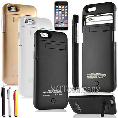 3200mAh External battery backup power bank charger case cover for iphone 6