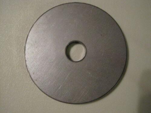 """.250 A36 Steel 1//4 x 9/"""" OD x 3/"""" ID Circle Steel Round"""