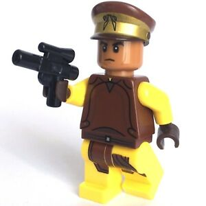 STAR-WARS-lego-NABOO-SECURITY-GUARD-trooper-GENUINE-minifig-NEW-75091-75058