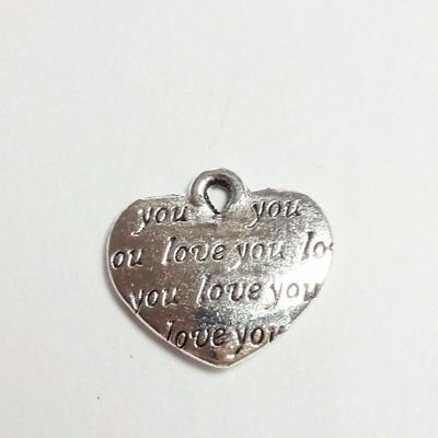 6pcs Notebook Charms Antique Silver 18x11mm Diary Book Jewellery B0083086