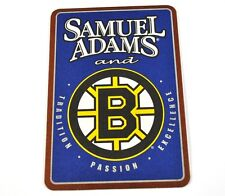 Samuel Adams Boston Bruins USA Beer Bier Bierdeckel Untersetzer Coaster
