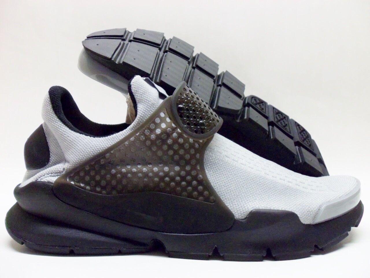 Nike uomini sock dardo id forte grigio / nero taglia uomini Nike '10 13790b