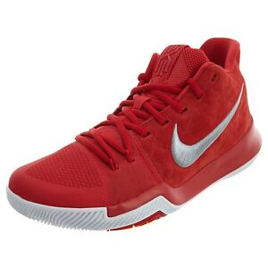 Nike Kyrie 3 Red Suede 852395 601 |