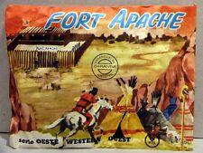 MONTAPLEX Sobre Oeste Western FORT APACHE soldaditos indios cowboys 70's airfix