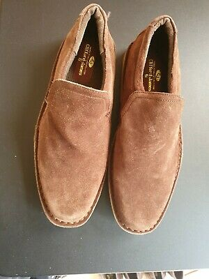 Clifford James Brown Suede Leather
