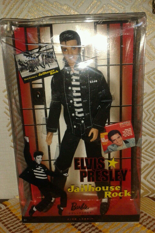 Barbie, Elvis Presley, Jailhouse Rock, 2009, nie geöffnet,Vintage