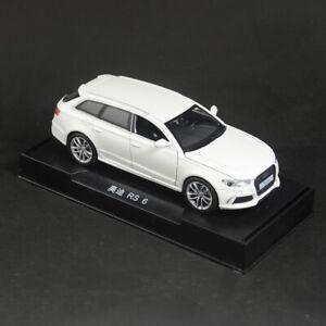 AUDI-RS6-Quattro-Coche-Modelo-Escala-1-32-Diecast-Vehiculo-de-juguete-de-regalo-Tire-hacia-atras