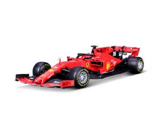 BBURAGO-1-18-2019-FERRARI-FORMULA-F1-SF90-16-Charles-Leclerc-Modello-Diecast-Auto