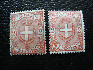 Italy-Stamp-Yvert-and-Tellier-N-56-x2-Nsg-A11-Stamp-Italy