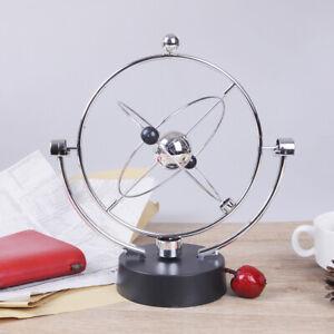 Newtons-Wiege-Spass-Stahl-Balance-Ball-Physik-Wissenschaft-Schreibtisch-SpielZJP