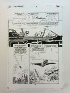 Batman Generations Original Comic Art-John Byrne (not Lee, Miller, Adams Sketch)