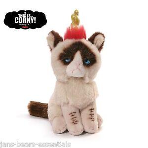 """Gund - Grumpy Cat - Unicorn Beanbag - 5"""""""