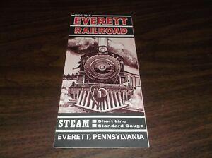 1960-039-s-EVERETT-RAILROAD-COMPANY-PUBLIC-TIMETABLE