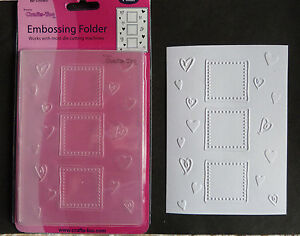 Crafts-Too-CTFD3037-C6-Embossing-Folder-Hearts-and-frames