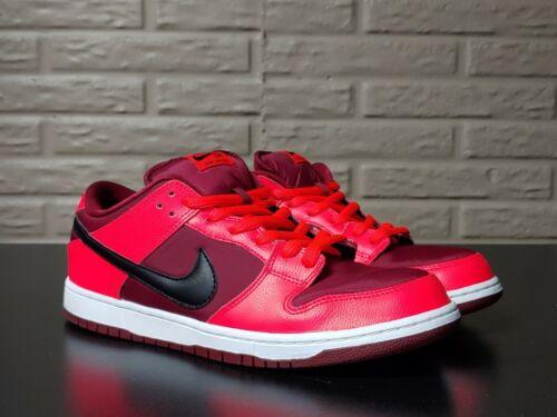"*rare* Nike Dunk low SB Pro ""Laser Crimson"" Size 1"