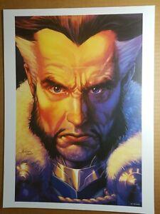 DC Male Villains Art Print