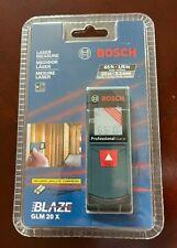 Bosch Blaze Glm 20 X Laser Distance Measure65 Ft Range Finder New