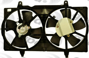Engine-Cooling-Fan-Assembly-fits-2002-2007-Nissan-Altima-Maxima-GLOBAL-PARTS